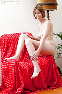 Pale natural babe Jodie C is an amateur with a hairy pussy - PornPics.com
